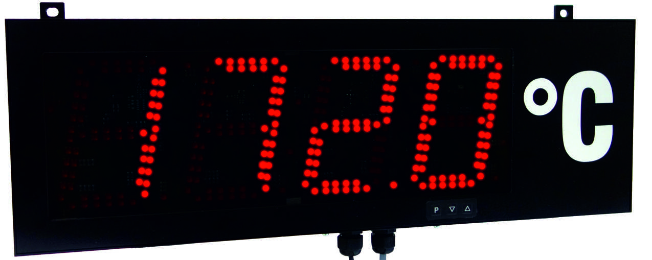 Montwill Produkte: MG Digital large-size display with multifunction measuring input 57 mm